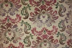 Vintage wallpaper floral pattern background Royalty Free Stock Image