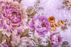 Vintage wallpaper with floral victorian pattern Royalty Free Stock Photos