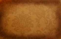 Vintage wallpaper frame Royalty Free Stock Photo