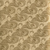 Vintage wallpaper Gold Royalty Free Stock Image