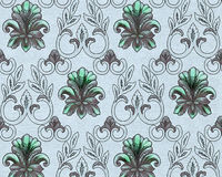 Vintage wallpaper, Ornamental Texture, Decoration Stock Images