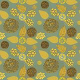 Vintage wallpaper, pattern Royalty Free Stock Photography