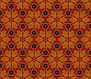 Vintage wallpaper pattern seamless background. Royalty Free Stock Photography