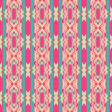 Vintage wallpaper pattern seamless background. Royalty Free Stock Image