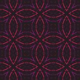 Vintage wallpaper pattern seamless background. Royalty Free Stock Photo