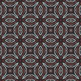 Vintage wallpaper pattern seamless background. Royalty Free Stock Photos