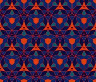 Vintage wallpaper pattern seamless background. Stock Photography
