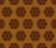 Vintage wallpaper pattern seamless background. Royalty Free Stock Images