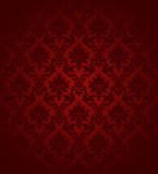 Vintage Wallpaper Red Royalty Free Stock Photo