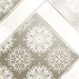 Vintage wallpaper with ribbons Royalty Free Stock Image