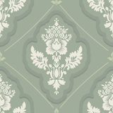 Vintage wallpaper seamless. Old Royal pattern. Royalty Free Stock Photography