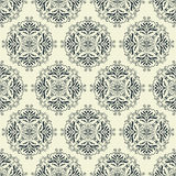 Vintage wallpaper seamless pattern Royalty Free Stock Photography