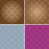 Vintage Wallpaper Seamless Pattern Original Design. Vector Illustration of Vintage Wallpaper Seamless Pattern Original Design Royalty Free Stock Images