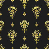 Vintage wallpaper. Seamless texture in vintage style Stock Illustration