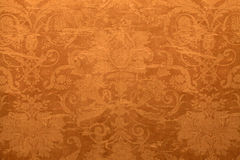 Vintage wallpaper with shabby tapestry pattern stock photography
