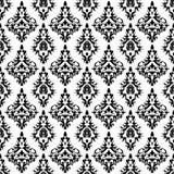 Vintage wallpaper, vector. Vintage damask wallpaper , vector seamless pattern Royalty Free Illustration