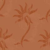 Vintage wallpaper, vector Royalty Free Stock Photo
