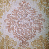 Vintage  wallpaper with vignette pattern Royalty Free Stock Photo