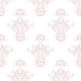 Vintage wallpapers. Pink vintage wallpapers, seamless background royalty free illustration