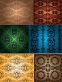 Vintage wallpapers Royalty Free Stock Photo