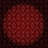Vintage wallpapers with damask pattern Royalty Free Stock Image