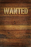 Vintage wanted royalty free stock photo