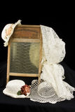 Vintage Washboard and hats Royalty Free Stock Photo