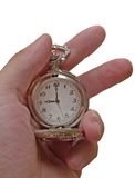 Vintage watch in the arm Royalty Free Stock Photo