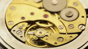 Vintage Watch Movement Royalty Free Stock Photography