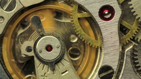Vintage Watch Movement Royalty Free Stock Images