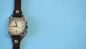 Vintage watches stock video footage