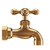 Vintage water faucet Royalty Free Stock Photo