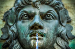 Vintage Water Fountain Royalty Free Stock Images