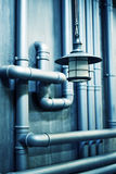 Vintage water pipes Royalty Free Stock Photo