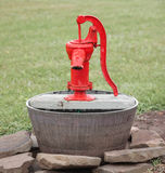 Vintage Water Pump Stock Image