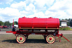 Vintage water tank wagon Royalty Free Stock Photography