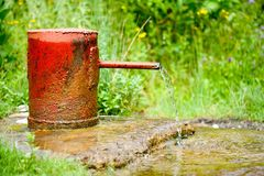 Vintage water tap Stock Image