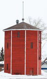 Vintage water tower. Refinished vintage elevator water tower Stock Images