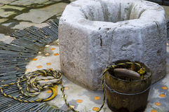 Vintage water well Royalty Free Stock Photography