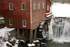 Vintage water wheel Stock Images