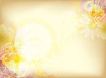 Vintage watercolor background Stock Image