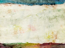 Vintage watercolor background. Royalty Free Stock Images