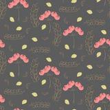 Vintage watercolor flower pattern. Vector vintage watercolor flower pattern Stock Photo