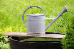 Vintage watering can Stock Photos