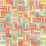 Vintage wattle seamless pattern Royalty Free Stock Image