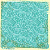 Vintage wave background Royalty Free Stock Image
