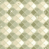 Vintage wavy geometric seamless pattern, vector neutral worn bac Royalty Free Stock Photography