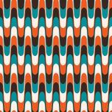 Vintage wavy pattern vector illustration