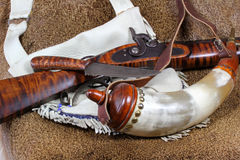 Vintage Weapons Royalty Free Stock Images