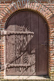 Vintage weathered door Stock Images